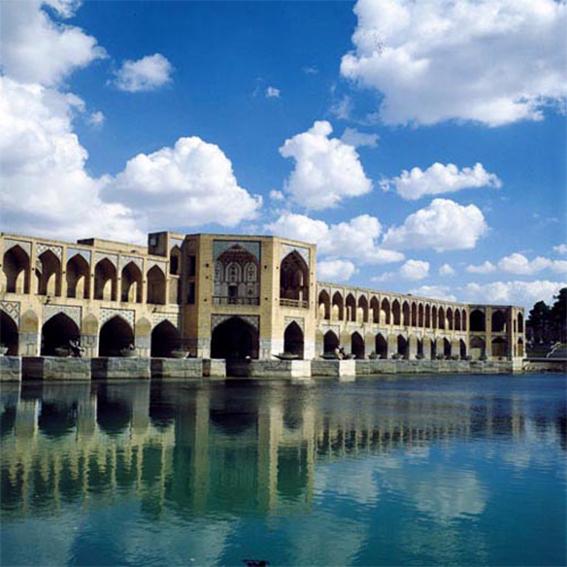 المواقع الاماکن السیاحیه فی مدینة اصفهان