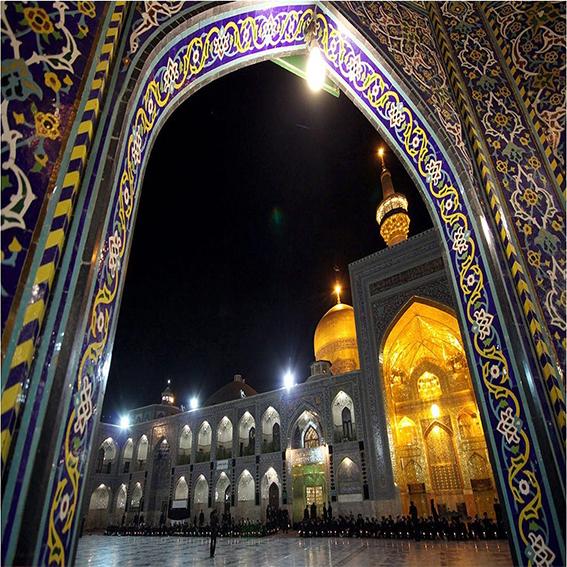 مرقد الامام رضا في مشهد