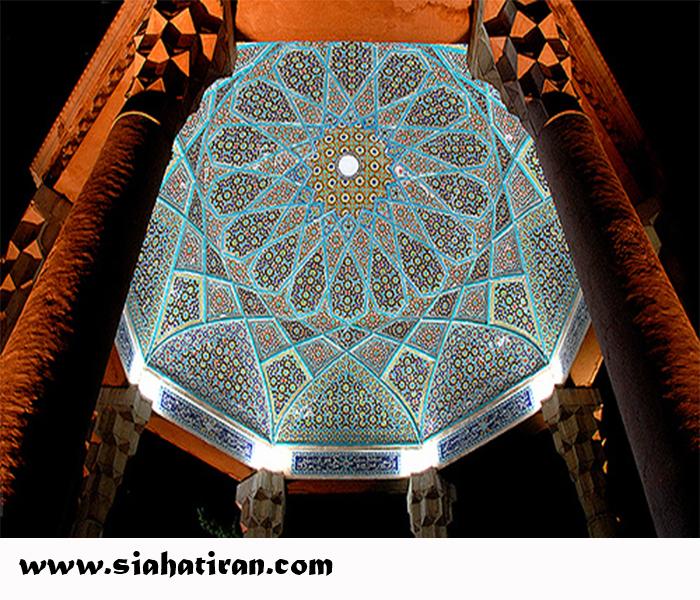 مقبرة حافظ فی مدینة شیراز