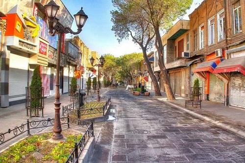 شارع التربيت في تبريز