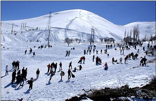 اماكن السفر في الشتاء فی ایران