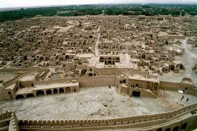 واحدة من أقدم المدن في إيران ، ايكباتانا