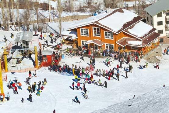 التزلج على الجليد في إيران ، توتشال