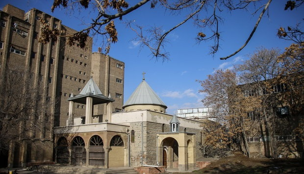 الكنائس المفقودة في إيران ، كنيسة القديسة مريم تبريز
