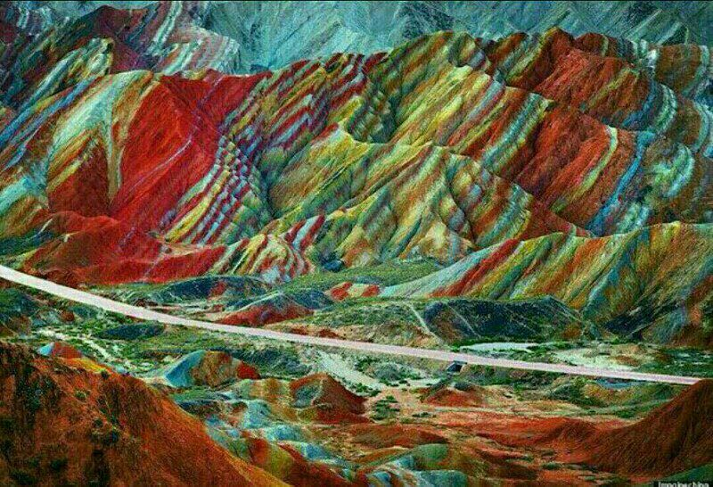آلاداغلار أو الجبال الملونة