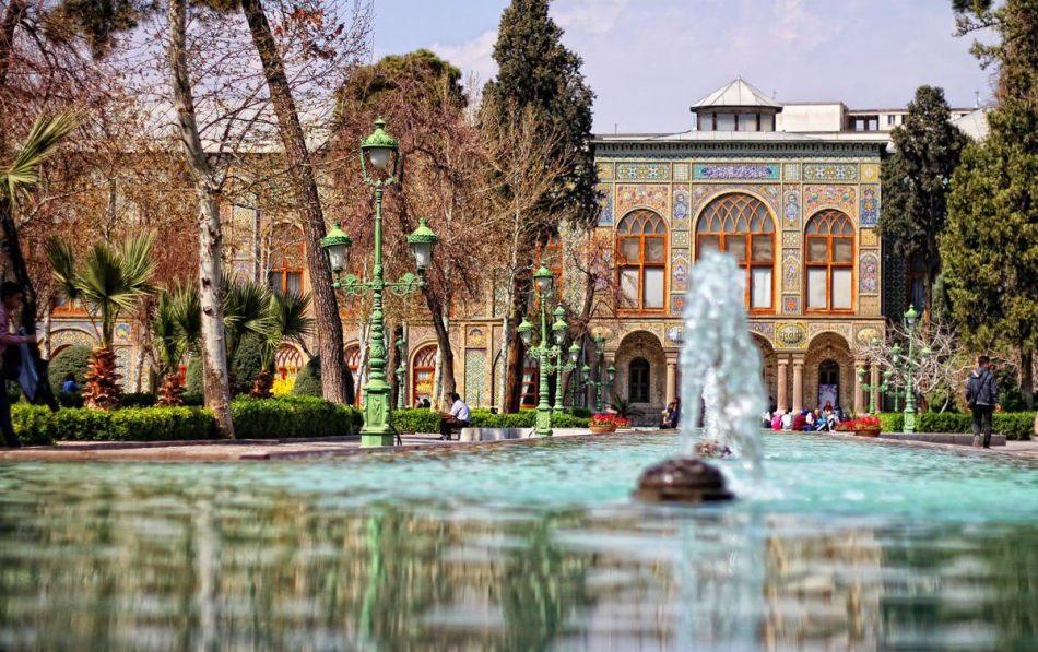 1قصر گلستان سیاحت ایران علاج فی ایران