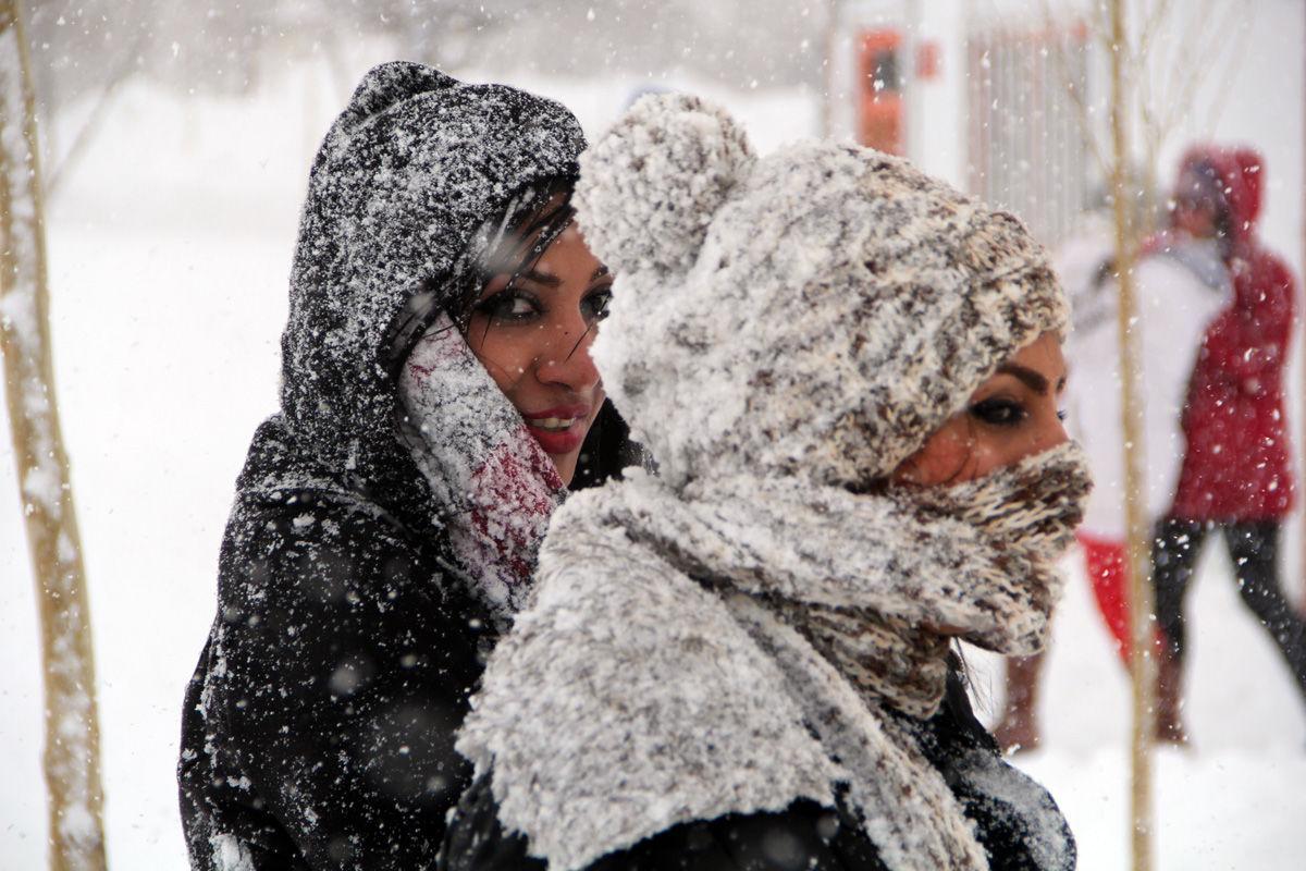 التزلج على الجليد في إيران ، منتجع پولادکف للتزلج